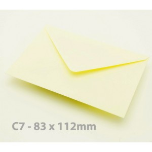 C7 Cream Envelopes