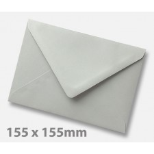 155 x 155mm Grey Envelopes
