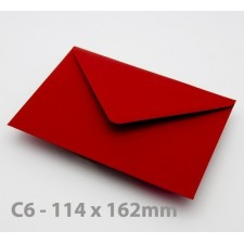C6 Crimson Red Envelopes