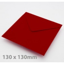 Small Square Crimson Red Envelopes