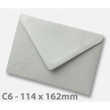 C6 Grey Envelopes