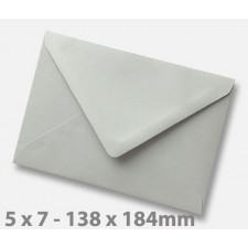5 x 7 Grey Envelopes