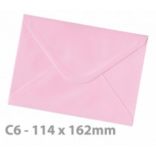 C6 Candy Floss Pink Envelopes