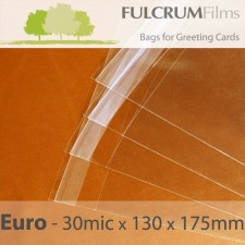 Standard Cello Bags Euro Size 130 x 175mm