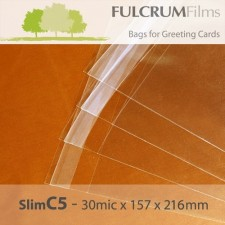 Standard Cello Bags Slim C5 Size - 157 x 216mm