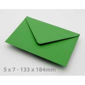 5 x 7 Meadow Green Envelopes