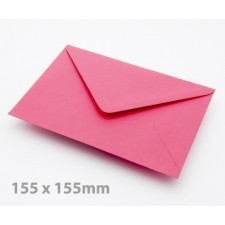 Large Square (155mm) Fuchsia Envelopes