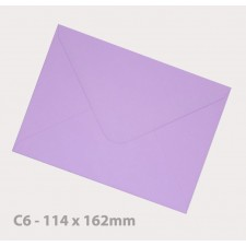 C6 Lavender Envelopes