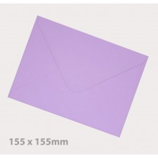 155 x155mm Lavender Envelopes