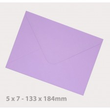 138 x184mm (5 x 7) Lavender Envelopes