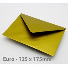 Euro / B6 Gold Envelopes