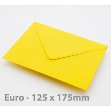 Euro / B6 Harvest Yellow Envelopes
