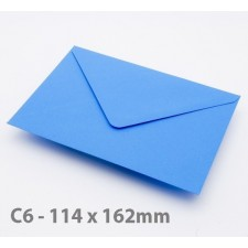 C6 Kingfisher Blue Envelopes